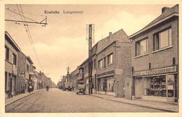 Kruibeke  Langestraat  Brood En Pastei Bakkerij Oldtimer Vrachtwagen Tramsporen Garage Boons     M 6996 - Kruibeke