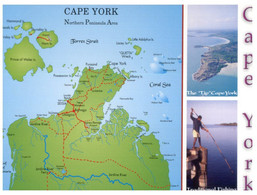 (HH 26) Australia - QLD - Cape York Map - Far North Queensland