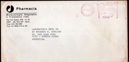 Brasil - 1988 - Lettre - Cachet Spécial - Affranchissement Mécanique - Pharmacia - A1RR2 - Cartas