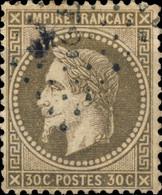 FRANCE - 1863-70 - Yv.30 30c Gris-brun - Obl. Losange D'ambulant - TB - 1863-1870 Napoleone III Con Gli Allori