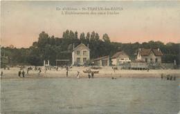 """CPA FRANCE 17 """"Ile D'Oléron, Saint Trojan Les Bains, Etablissement Des Amis Duclos"""" - Ile D'Oléron"""