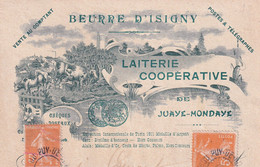 "JUAYE MONDAYE "" Laiterie Cooperative  ""    N°8761 - Autres Communes"
