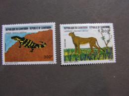 Kamerun  Tiere 1986  1133 - 1134 ** MNH - Camerún (1960-...)