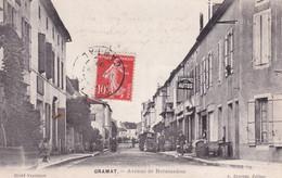 "GRAMAT "" Avenue De Rocamadour , Animée ""        N°8793 - Gramat"