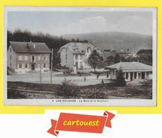 CPA LES ROUSSES 39 - La Gare Du Tramway électrique - Petite Animation - Other Municipalities