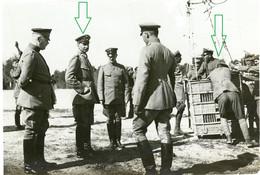 14-18.WWI Foto (Photo) - Luftwaffe - Ballon - Fesselballon Beobachter Stellung . Interressant ! General - 1914-18
