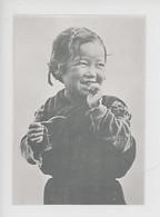 Enfant Du Bhoutan (portrait) Au Norde De L'Ind - Enfants Du Monde Cp Double Vierge - Bhutan