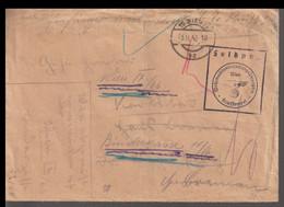 German Feldpost WW2: From Military Prison In Wien - Wehrmachtsuntersuchungsgefängnis - Militaria