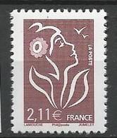 TYPE LAMOUCHE N° 3972 Sans  Bandes De Phosphore NEUF** LUXE SANS CHARNIERE  / MNH - Variedades: 2000-09 Nuevos