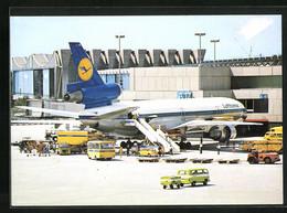 AK Frankfurt A. M., Flughafen, DC-10 Während Der Abfertigung - Unclassified