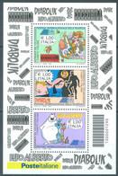 ITALIA - 2009 -  MNH/*** LUXE - COMICS COCCOBILL DIAABOLIK LUPO ALBERTO - Sa FOGLIETTO 52  Yv BLOC 50 - Lot 23326 - Hojas Bloque