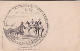 """[58] Nièvre Pendant La Commune De Paris  """" La Vache à Gambon  """" Precurseur - Sin Clasificación"""
