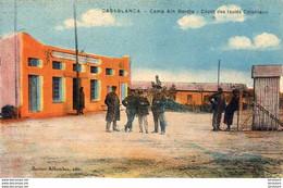 MAROC  CASABLANCA  Camp Aïn Bordja- Dépôt Des Isolés Coloniaux - Casablanca