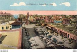 MAROC  CASABLANCA  Boulevard Du 2° Zouaves - Casablanca