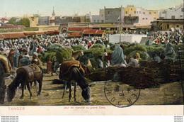 MAROC TANGER  Jour De Marché Au Grand Soko - Tanger