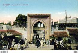 MAROC TANGER  Porte Du Grand Soko - Tanger