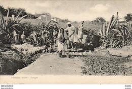 MAROC TANGER  Fontaine Arabe - Tanger