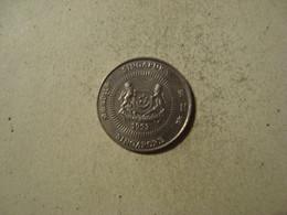 MONNAIE SINGAPOUR 10 CENTS 1993 - Singapore