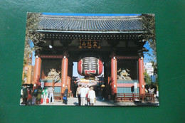 Z8/ KAMIRARIMON  ASAKUSA DEPICH A TYPICAL JAPANESE ATMOSPHERE CARTE ANIMEEJAPON ASIE - Autres