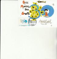 Z1 - Carte Avec Timbre OMS THIONVILLE - Personalizzati (MonTimbraMoi)