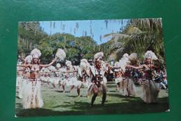 Z8/DANSE TRADITIONELLE DE TAHITI  OTEA MIXTE  CACHET DE LA MARINE NETIONALE  SERVICE A LA MER TAHITI OCEANIE PHOTO GIAU - Tahiti