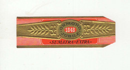 BAGUES DE CIGARES  1 EX.  ORMOND JUBILE 1848  SUMATRA EXTRA - Vitolas (Anillas De Puros)