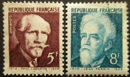 FRANCE N°820 Et 821 Oblitérés - Verzamelingen
