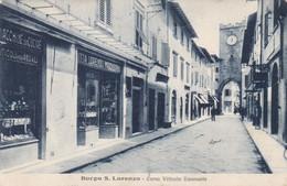 BORGO S.LORENZO - FIRENZE - TOSCANA  - ITALIA -  CARTOLINA POSTALE - 1928. - Firenze (Florence)