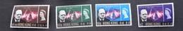 K46747 -set Mint Hinged   Hong Kong  - 1966 - Sir Winston Churchill - Sir Winston Churchill