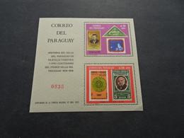 M11098 - Bloc MNh Paraguay 1968 MI. B112 - SQC. 1098  - Stamp Centenary - Paraguay