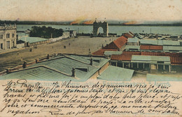 Blagowestschensk Amur .  Hand Colored  Papillon At Civil Governor Of Moscow - Russia