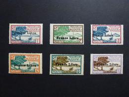 Nouvelle Calédonie N° 195, 196, 197, 198, 199, 200 France Libre * Neuf Avec Trace De Charnière - Nuevos