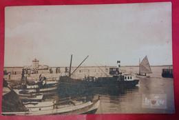CPSM Port De CHAPUS LE PORT  BARQUES BATEAUX  éditions D'art Raymond Bergevin - Andere Gemeenten