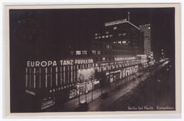 AK Dt.-Reich (003225) Berlin Bei Nacht, Europahaus, Gelaufen Berlin Am 21.8.1935 - Kreuzberg