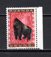 RUANDA-URUNDI   N° 205   NEUF SANS CHARNIERE   COTE 0.15€   SINGE ANIMAUX - 1948-61: Neufs