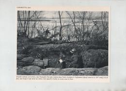 Tranchées Italiennes Piave Cadorna Tagliamento Canon En Pièces Roi Victor Emmanuel III 1917 - 1914-18