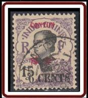 Canton - Bureau Indochinois - N° 72 (YT) N° 72 (AM) Oblitéré. - Oblitérés