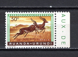 RUANDA-URUNDI   N° 208   NEUF SANS CHARNIERE   COTE 0.15€   IMPALA ANIMAUX - 1948-61: Neufs