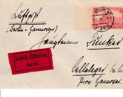 Flugpost Weimar Expres Durch Eilboten Von Berlin 19.7.1919 - Zonder Classificatie