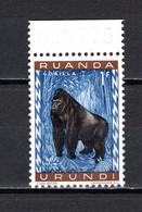 RUANDA-URUNDI   N° 209    NEUF SANS CHARNIERE   COTE 0.15€   SINGE ANIMAUX - 1948-61: Neufs
