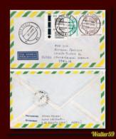 1987 Brasil Brazil Air Letter Posted Sao Bento To Italy Lettre Par Avion - Cartas