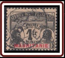 Mauritanie 1906-1912 - Timbre-taxe N° 16 (YT) N° 21 (AM) Oblitéré. - Oblitérés