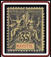 Mayotte - N° 18 (YT) N° 19 (AM) Neuf *. - Neufs
