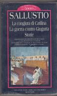 La Congiura Di Catalina, La Guerra Contro Giugurta - Sallustio - Newton - Mai Aperto , Ancora Nel Celophan - To Identify