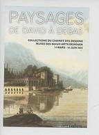 """Louis-François Cassas """"vue Des Iles Borromées"""" - Paysages De David à Degas Coll Cabinet Dessin Rouen - Pubblicitari"""