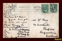 1906 Canada Postcard Eglise St. Alban Mailed To Scotland 2scans - Postgeschichte