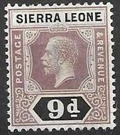 Sierra Leone Mh * Script Watermark - Sierra Leone (...-1960)