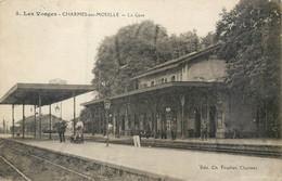 CPA 88 Vosges Charmes Sur Moselle La Gare - Charmes