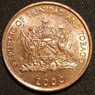TRINIDAD AND TOBAGO - 5 CENTS 2000 - KM 30 - Trinité-et-Tobago - Trinidad & Tobago