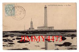 CPA - GATTEVILLE En 1906 - Le Phare Et Le Sémaphore - Env. De SAINT-VAAST-la-HOUGUE 50 Manche - Edit. ND Phot - Saint Vaast La Hougue